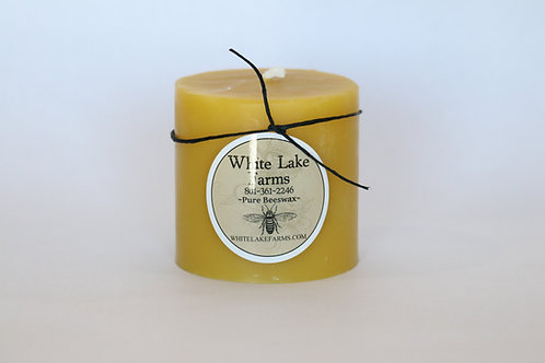 3*3 Beeswax Candle