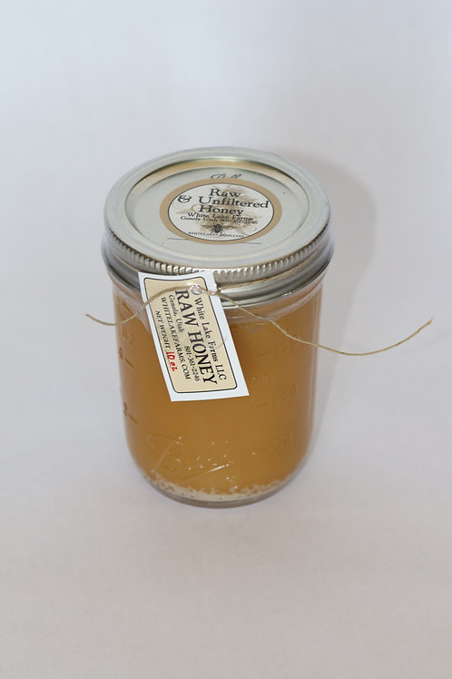 10 oz Raw Unfiltered Whole Honey
