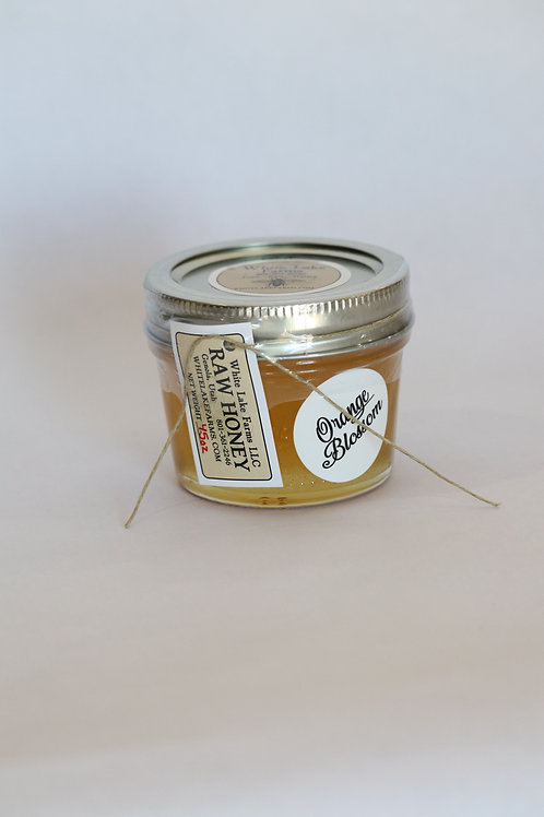 4.5 oz Orange Blossom Honey