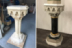 pedestal restored by Brushworks.jpg