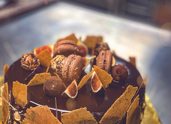 CHOCOLATE NOCCIOLA ALMOND CAKE