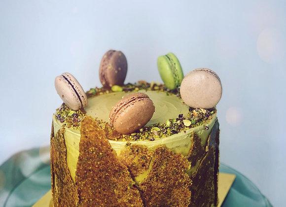 RICH PISTACHIO CAKE