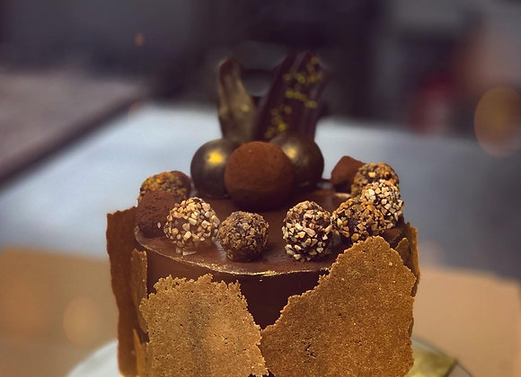 Chocolate Nocciola-Almond Cake