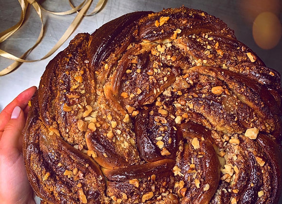 Babka Twist Cake cu nucă - 2kg