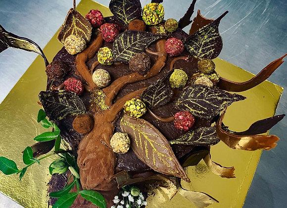 GARDENIA CHOCOLATE NOCCIOLA-ALMOND CAKE