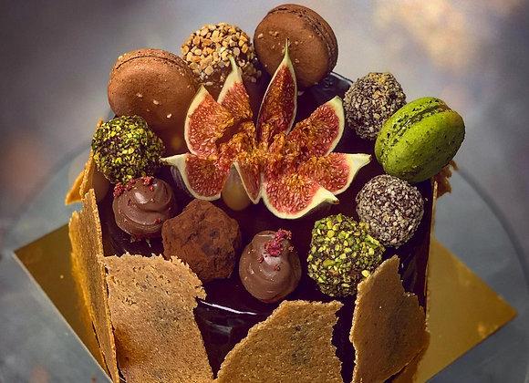 No.1 mini version of the CHOCOLATE NOCCIOLA-ALMOND CAKE