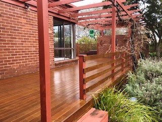 Timber finishes Canberra Dulux Accredited Painters