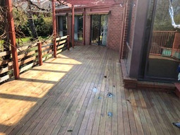 before canberra deck photo