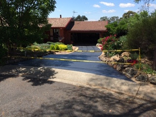 Canberra Painted driveway