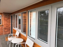 After photo of timber work canberra