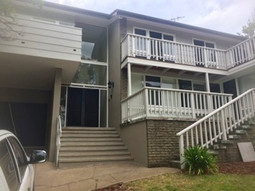 Exterior house repaint. Timber work. Canberra.