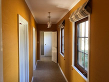 internal repaint. Canberra high end home.