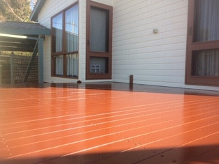 Timber Deck Prowses Painting