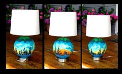 spherescape lamp   SOLD