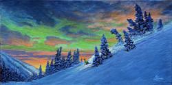 Aurora Visits Sun Peaks