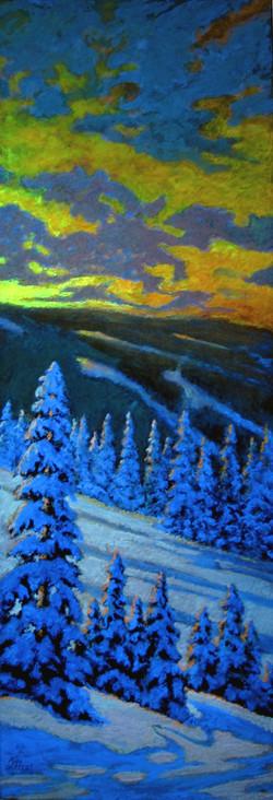 Winter Wonderland in the dark
