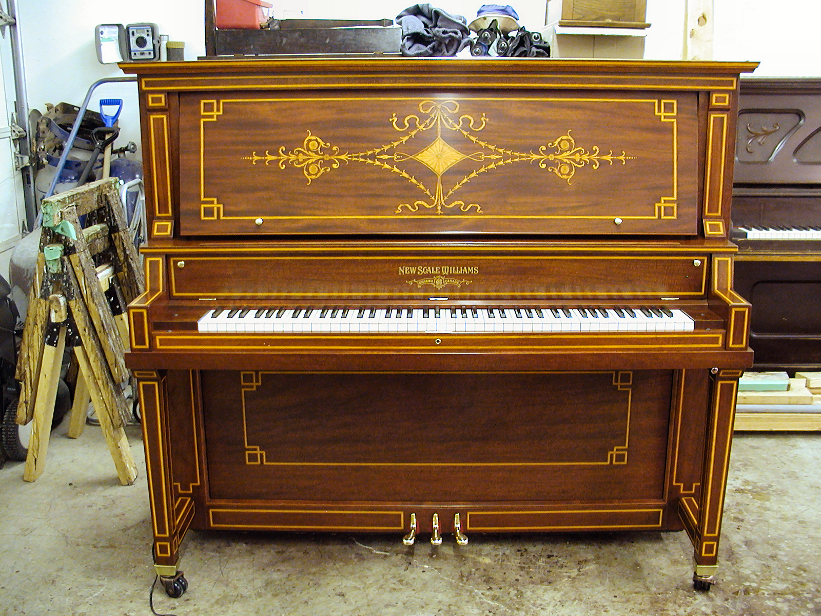 Williams Piano after restoration