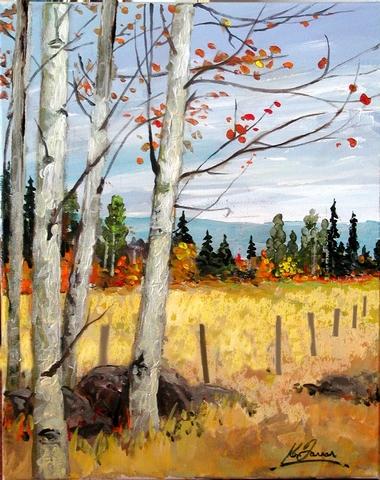 Last of the Aspen Leaves