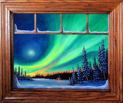 Moonlight Sonata with window frame