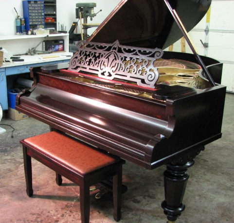 Bechstein after restoration