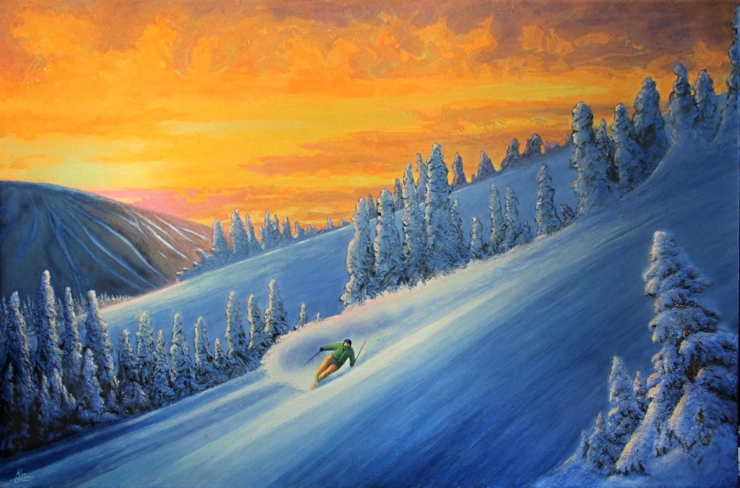 Sun Peaks Skier