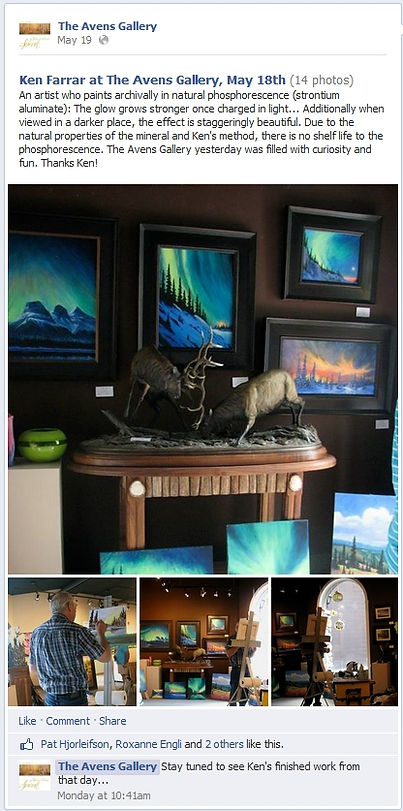 Avens Gallery Canmore Alberta