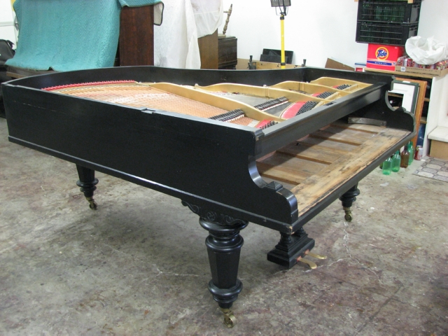 Bechstein before restoration