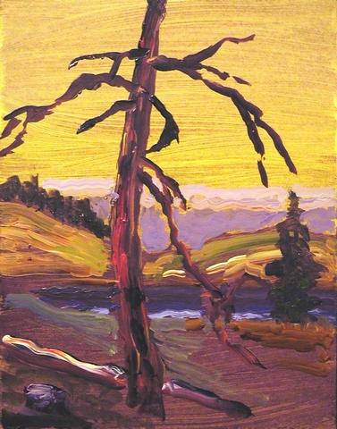 Edith lake sunset