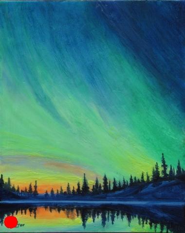 Lake Of The Aurora 2