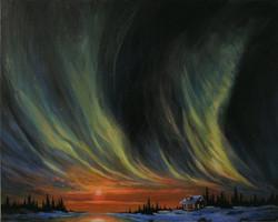 Spirit of the Northern Sky 24x30
