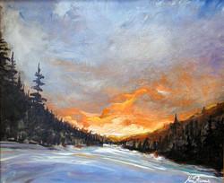 Sun Peaks Sunset