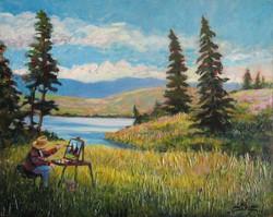 Artist at Work (Edith Lake)