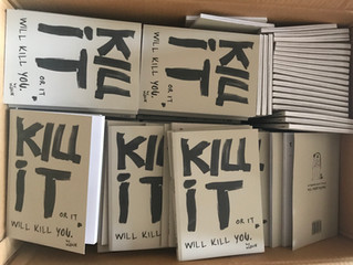 """Kill it or it will kill you"", is here!  The handbook that helps you to kill your fears..."