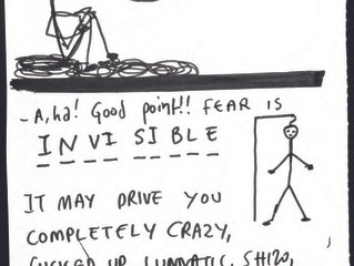 Draw your fear and share it here