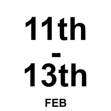 11th Feb
