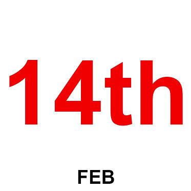 14th Feb