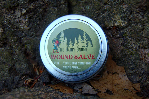The Hairy Gnome ~Wound Salve- Well, You've Done Something Stupid Again.