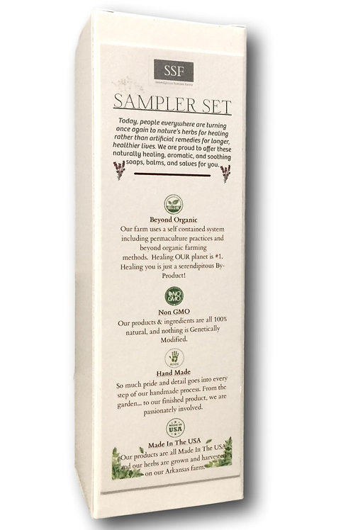 Sampler Gift Set. Our 4 Best Selling Therapeutic Salves.
