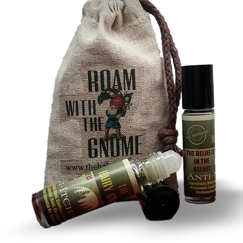 The Hairy Gnome- Anti Itch Potion Rollerball (2pk.)