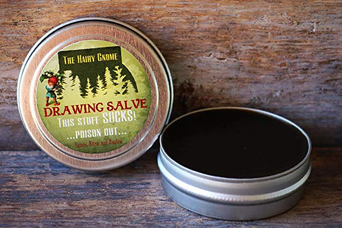 The Hairy Gnome ~Drawing Salve~THIS STUFF SUCKS...Poison Out...