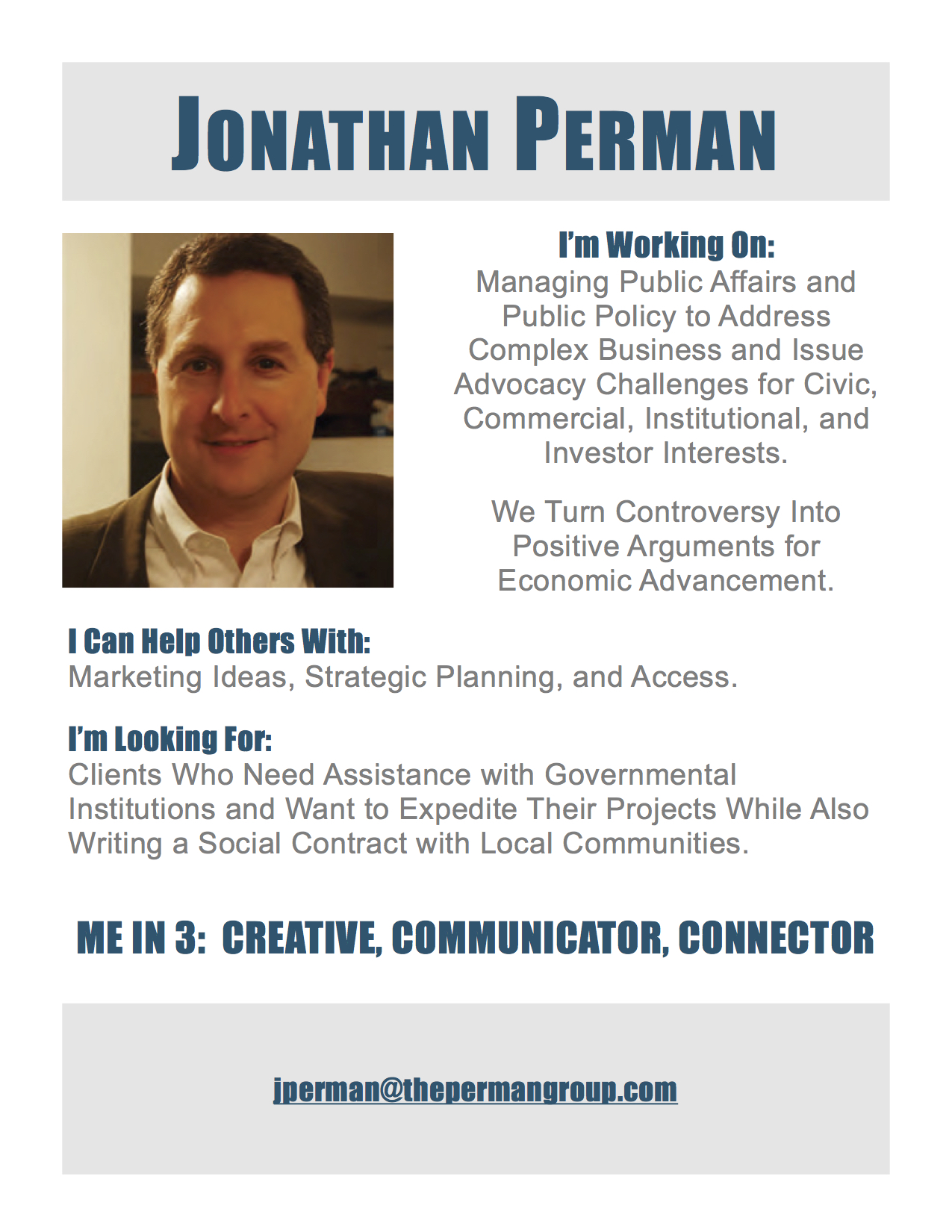 Jonathan Perman