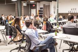 Entrepreneurship class at The Shift