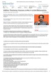 Uddhav Thackeray imposes curfew in entir