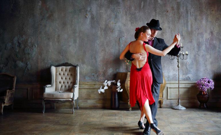 foto van tango dansend paar
