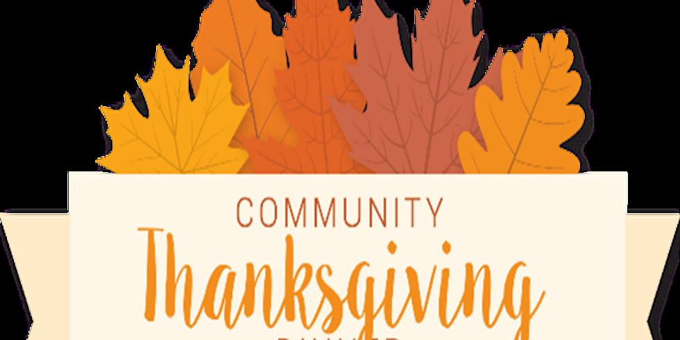 Free Thanksgiving Day Dinner