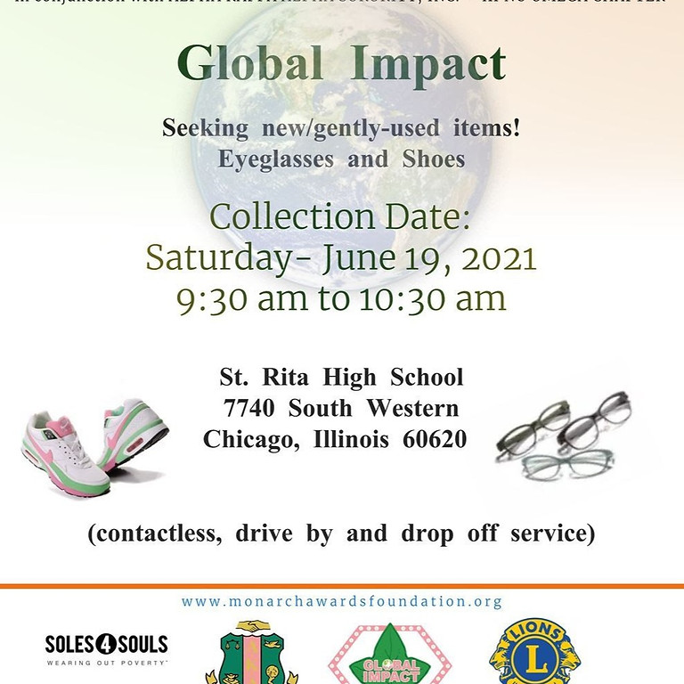 Global Impact- Shoe and Eyeglass Drive