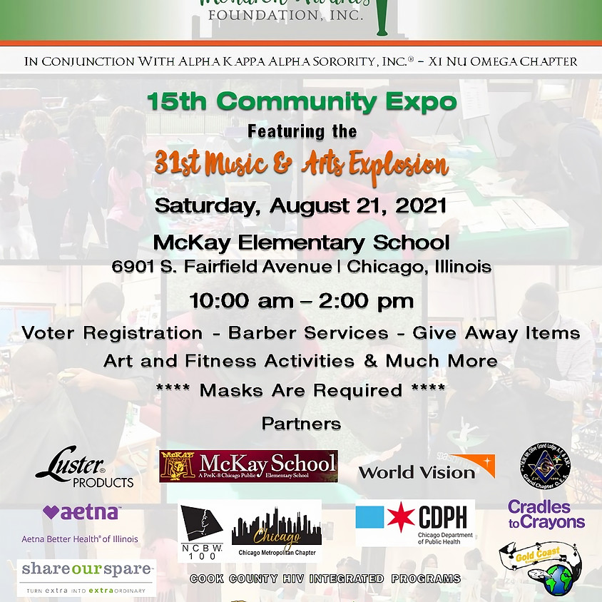 15th Community Expo featuring the 31st Music & Arts Explosion