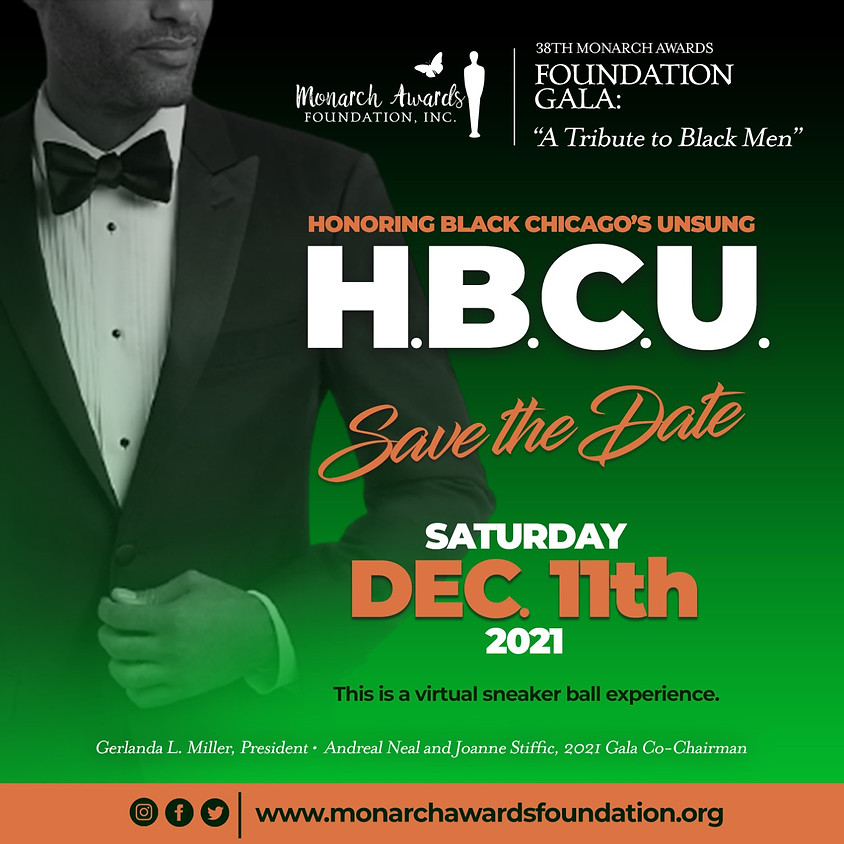 """38th Monarch Awards Foundation Gala: """"A Tribute to Black Men: Honoring Chicago's Unsung"""""""