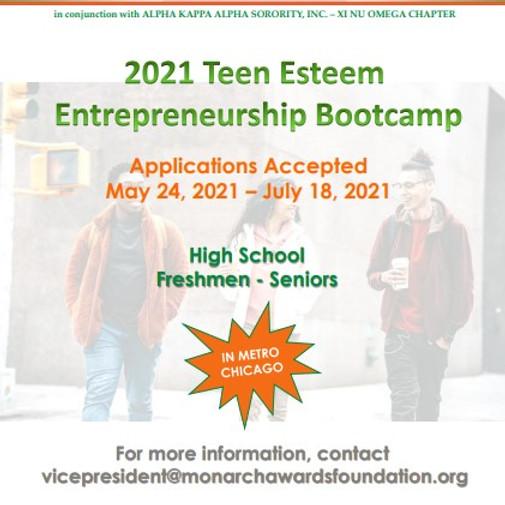 Teen Entrepreneurship Bootcamp -  Accepting Applications