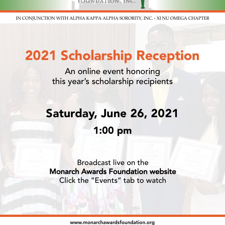 2021 Monarch Awards Foundation Scholarship Reception